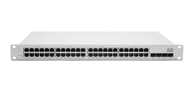 Meraki LAN Ethernet Switches administrados por la nube MS220